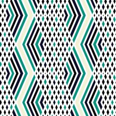 Seamless zigzag pattern, striped background.