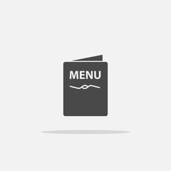 Restaurant food menu vector icon