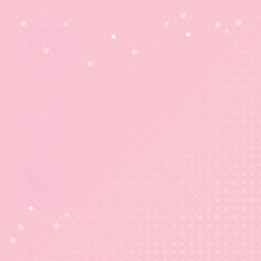 Abstract soft Pink polka dot background. Vector