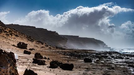 Ansichten von der Westküste auf Fuerteventura