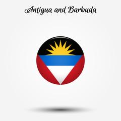 Flag of Antigua and Barbuda icon