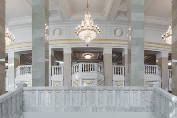 Grand National Theatre of Opera and Ballet in Minsk. Interior