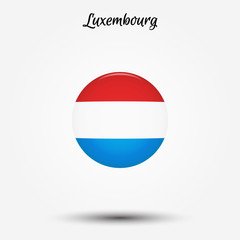 Flag of Luxembourg icon
