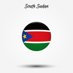 Flag of South Sudan icon