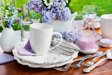 Garten   -    Essen und Trinken