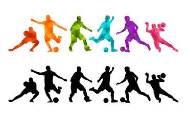 Football soccer colorful background. Vector illustrationя