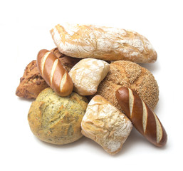 Collage of Various Types of Artisan Breads