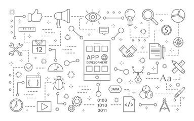 App development set.