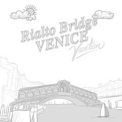 Rialto bridge travel marketing cover