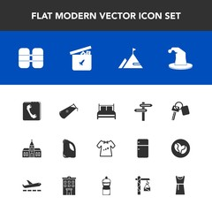 Modern, simple vector icon set with white, ball, automobile, banner, clothing, religion, oxygen, saw, clothes, circus, female, kid, vehicle, equipment, toy, religious, internet, auto, direction icons