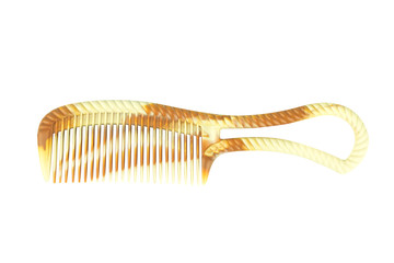 hairbrush isolated on white background