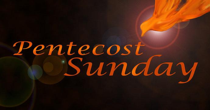 Background for Pentecost Sunday