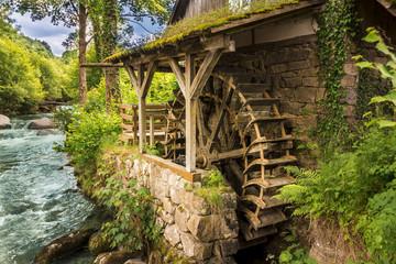Alte Wassermühle in Ottenhöfen