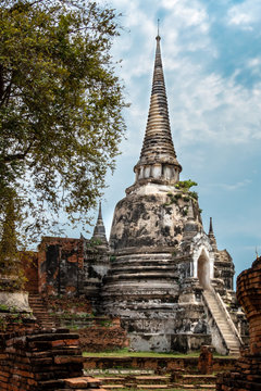 Siamesische Ruinenstadt Ayutthaya: Stupa