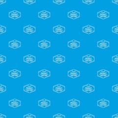 Gmo free pattern vector seamless blue