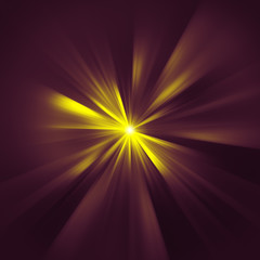 yellow star rays texture