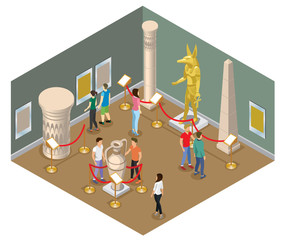 Isometric Museum Hall Concept