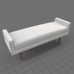 Mid-century bench