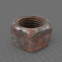 Rusty nut 1