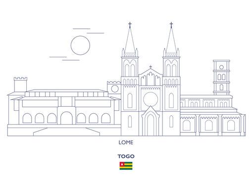 Lome  City Skyline, Togo