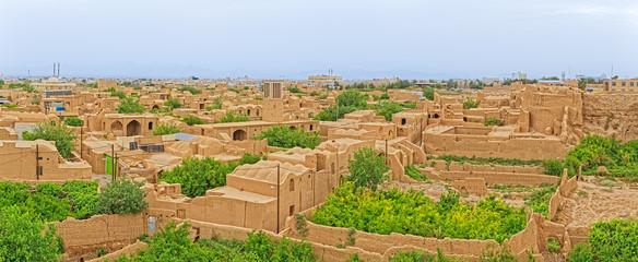 Meybod Iran aerial view