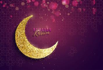 Ramadan kareem banner background