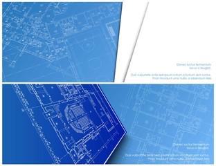 architectural banner for facebook vector Design
