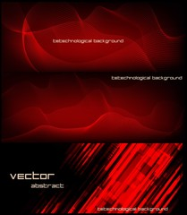 abstract banner for facebook Poster vector Design