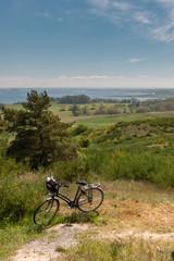 Fahrrad auf der Insel Hiddensee