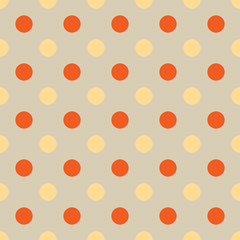 seamless Polka dot background. Bright polka dot texture. Vector illustration. Eps 10.