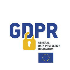 EU GDPR General Data Protection Regulation logo icon