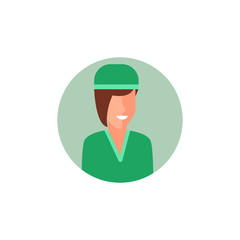 colored avatar of nurse icon. Element of colored people profession icon for mobile concept and web apps. Detailed colored avatar of nurse icon can be used for web and mobile