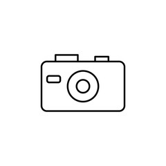 camera icon. Element of travel icon for mobile concept and web apps. Thin line camera icon can be used for web and mobile. Premium icon