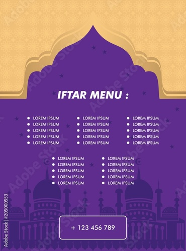 Iftar Banners Ribbon Banners