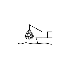 fishing icon. Element of fishing industry icon for mobile concept and web apps. Thin line fishing icon can be used for web and mobile. Premium icon