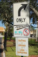 No Texting and Driving