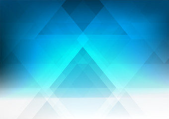 Blue geometric style gradient illustration graphic abstract background. Vector geometric background design for your business