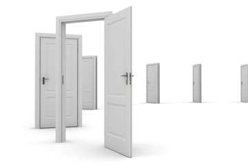 Some open doors