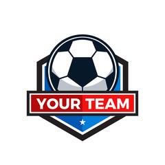 Football Tournament Logo Icon Vector