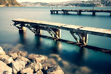 Landscape of Wellington, New Zealand