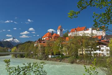 Hohes Schloss und Kloster St. Mang in Füssen am Lech