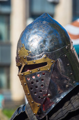 Knight's armour for historical reconstructions