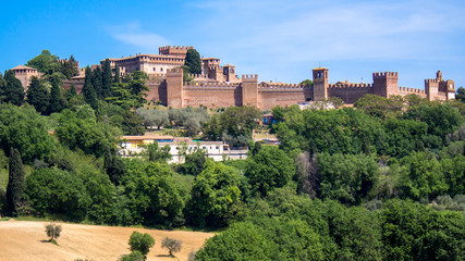 The Gradara Castle in Italy