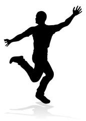 Street Dance Dancer Silhouette
