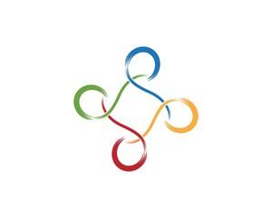 Business logo design concept