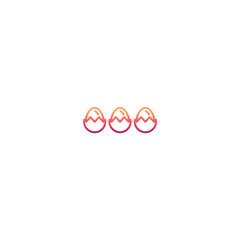 Minimal eggs icon
