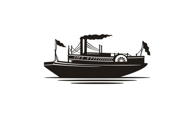 Riverboat stock photos and royalty-free images, vectors and