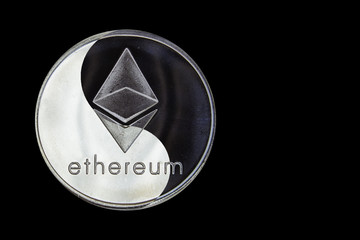 the concept coin Ethereum yin-yang