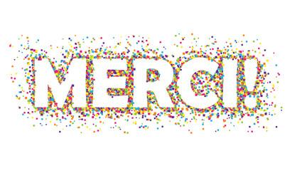 "Bannière ""MERCI"""