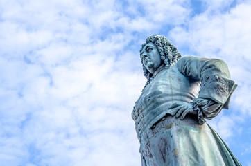 Georg Friedrich Handel Statue in Halle Saale